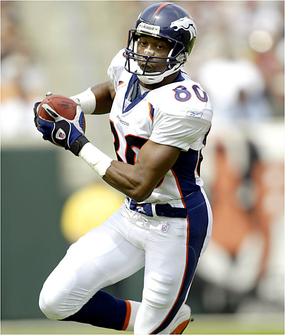 An undrafted free agent, Smith has had eight 1,000-yard receiving seasons for the Broncos and gotten little fanfare for his accomplishments. He isn't flashy and doesn't get as much credit as he deserves, but every year he's been there as the go-to guy in Denver.