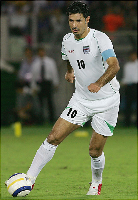 The most prolific scorer in international history is older, but he hasn't lost much of his nose for the net. He has 107 goals through 134 caps and once scored four times in an Asian Cup match against South Korea in '96.