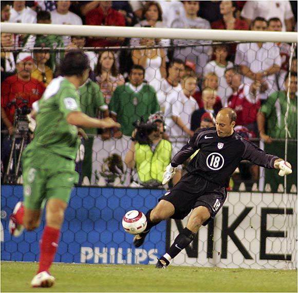 The Americans' rock in goal is probably the best weapon Team USA has -- Keller didn't allow a goal through five straight matches during qualifying. He also famously shut out a Romario-led Brazilian team at the '98 Gold Cup. Even though he was left off the '94 World Cup team, this will be Keller's fourth trip.