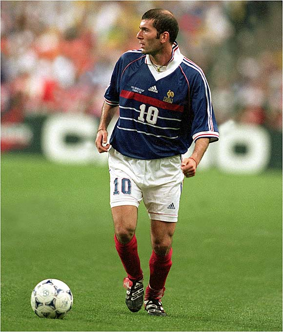 Zizou became a national treasure after guiding Les Bleus to the '98 World Cup title on France's own home turf. Now he's a senior member of an aging team looking for one more shot at glory -- Zidane will retire at the conclusion of Germany '06.