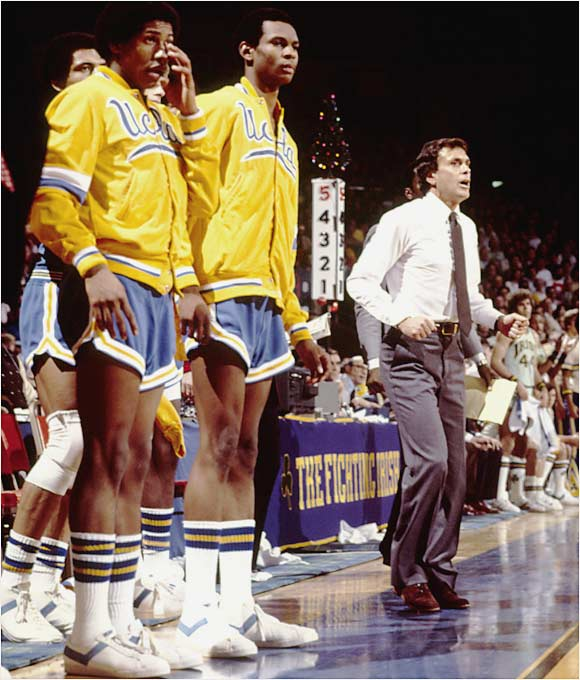 After resigning from the Nuggets in February 1979, citing health problems and fatigue in a tearful goodbye, Brown turned to a less stressful profession: coaching college kids instead of spoiled pros. In the first of his two seasons at UCLA, he relied on four freshmen and a 6-foot-5 center to get the Bruins to the NCAA championship game, where they lost to Louisville.