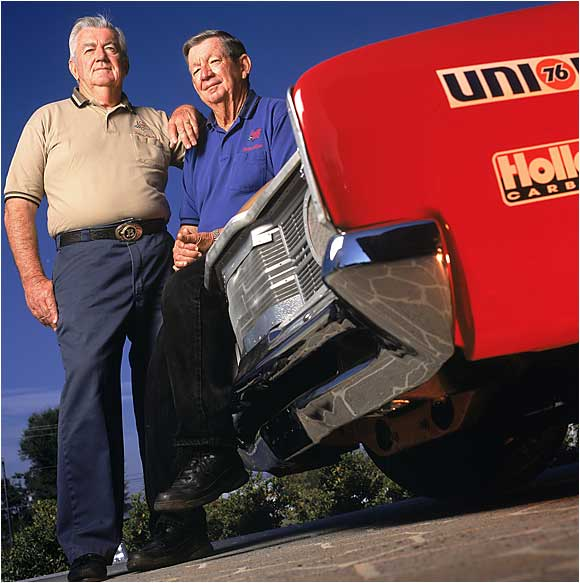 A big part of the Alabama gang, the Allisons excelled in NASCAR and dabbled in the Indy 500. Brothers Donnie and Bobby each raced twice in the Indy 500, while Bobby was named one of the top drivers in NASCAR history in 1998. Bobby's son, Davey, was a Winston Cup Rookie of the Year and won a Daytona 500 like his father, but his career was cut short when he died in a helicopter crash. (Pictured from left: Bobby and Donnie Allison.)
