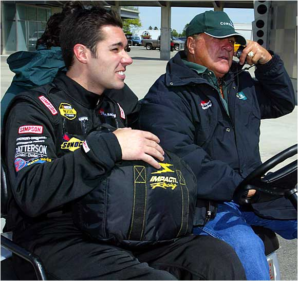 A.J. Foyt Jr. is the first four-time winner of the Indy and the only driver to win the Indy 500, the Daytona 500 and the 24 Hours of LeMans. So far he's the only big winner in the family, though his grandson, A.J. Foyt IV, has shown promise. Larry Foyt, the middle generation of the family, alas produced few successes on the track. (Pictured from left: Larry Foyt and father A.J. Foyt.)