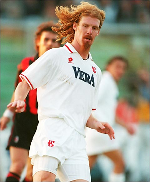His big mop of red hair and scraggly goatee that nearly counted as another appendage helped make Lalas the most recognizable American face when the U.S. hosted the 1994 World Cup. Lalas was the Carrot Top of the soccer world, minus the annoying commercials.