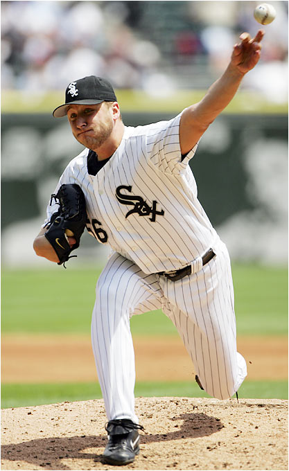 From 2001 through '04, the White Sox lefty won at least 14 games in each season and has been a workhorse, compiling at least 200 innings for five consecutive seasons.