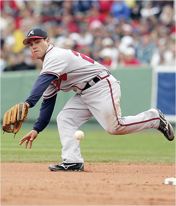 The younger brother of Padres star Brian, the Braves got an All-Star season out of Marcus Giles in 2003, but he was limited by injury in '04. He gives the Braves solid defense and a good batting eye (.364 career OBP) at second base.