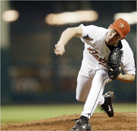 The Astros ignored Oswalt's lack of height and have been rewarded handsomely for it. Oswalt is coming off back-to-back 20-win seasons and has a career record of 88-42 with a 3.07 ERA.