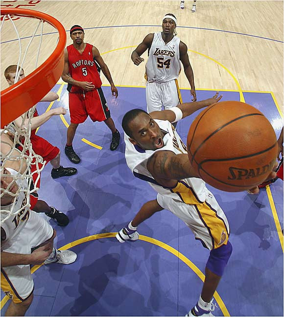Perhaps the NBA's most ruthless player, Bryant has made a career of crushing opponents' hopes with buzzer-beating shots. Already the owner of three title rings, Bryant almost single-handedly beat the Toronto Raptors in January by scoring 81 points to lead the Lakers to a 122-104 comeback win. The eight-time All-Star, also one of the league's most suffocating defenders, won the NBA scoring title in 2005-06 with 35.4 points per game.