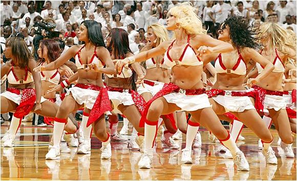 NBA Finals Cheerleaders | SI.com