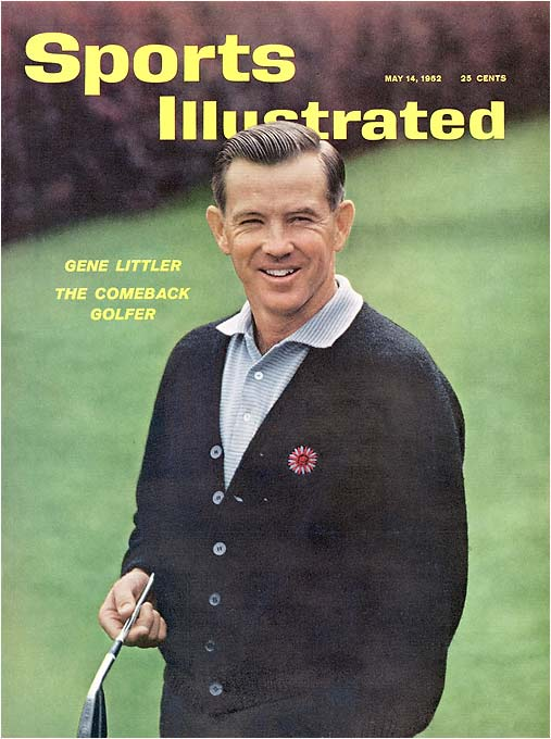 Littler owned a five-shot lead at the turn on Sunday at Pebble Beach. The man known as Gene the Machine for his sweet, repeating swing and consistent ballstriking then bogeyed five of the next six holes. Jack Nicklaus tied Littler before making a bogey at the 17th, then Lanny Wadkins birdied the 18th hole to tie Littler and go on to win in a playoff.