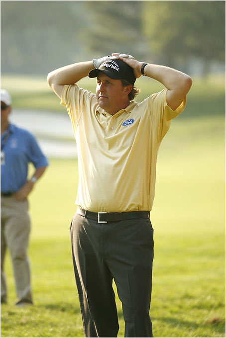 Just when we thought Lefty had curbed his enthusiasm for gambling, his risky nature reared its ugly head late on Sunday at Winged Foot. A double bogey on the 72nd hole sealed his fate, preventing him from winning his third consecutive major -- and a chance at the Mickel-slam in next month's British Open.