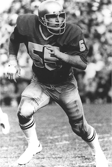 "Though he is best known for his role on ""Saved by the Bell: the College Years,"" Golic was a two-sport phenom at Notre Dame. He was a unanimous All-America linebacker for the 1977 national championship team and an All-America heavyweight wrestler. Golic placed third and fourth in the country in '76 and '77."