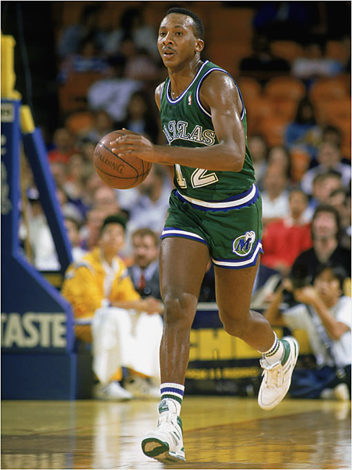 After drafting Derek Harper with the 11th pick in the 1983 draft, the Mavericks went 43-49 during the 1983-84 season and made the playoffs for the first time. In the postseason the Mavs beat the Sonics in five games but lost to the Lakers in the Western Conference semifinals.
