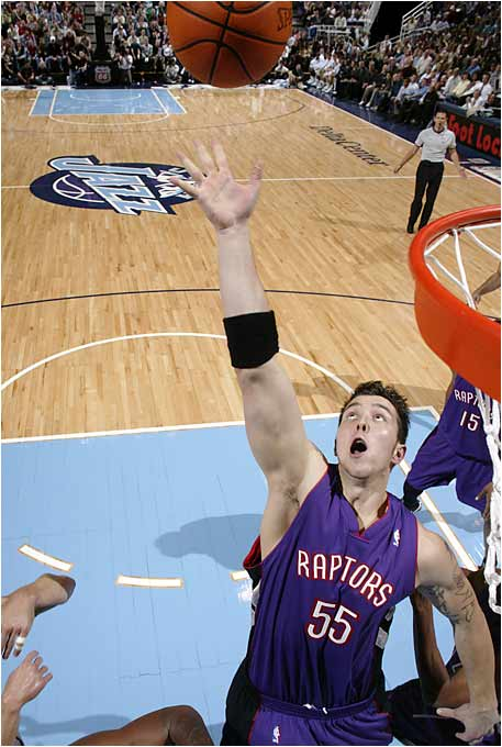 Gets the nod over Darko Milicic, mainly because Araujo is five years older than Darko, and probably won't get much better than a rookie season that saw him average three points and three rebounds a game. As was the case with Sam Bowie years earlier, Araujo's selection illustrates why you cannot draft for need, alone. He went about 10 spots higher than was expected, and about 25 spots higher than was deserved.