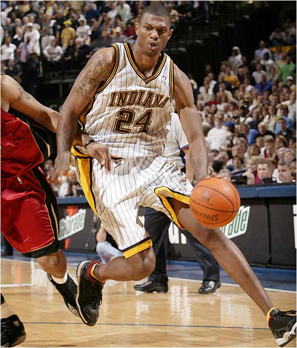 It seemed like the perfect move at the time. Trade a seemingly superfluous big man (Antonio Davis) for the chance to take a 7-foot Kevin Garnett look-a-like who had just set a McDonald's All-American Game record by scoring 31 points. Since then, Davis has flourished, including an appearance on the '01 All-Star team; Bender has struggled to secure a starting role. Even six years later, the Pacers would love to rescind the trade and take on Davis' inside presence and expiring contract.