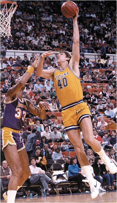 After a stellar career at Missouri that saw him grow an unfortunate mustache and -- no joke -- shoot himself in his right foot, Stipanovich was chosen by the Pacers as their interior cornerstone. Sort of a working man's version of Ralph Sampson, who was taken just one spot ahead. Stipanovich lasted just five seasons in the NBA before a degenerative knee condition ended his career. He now -- again, no joke -- owns a coal mine in Missouri.