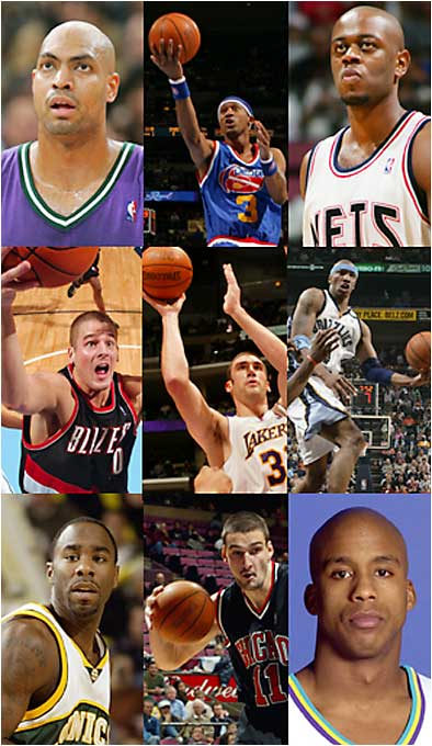 Most of the GMs in '00 got their picks right; this was just a horrible group of players. As it stands, the second round boasted as many All-Stars (Michael Redd) as the first round (Kenyon Martin), a mark that is sure to stand, unless you think Marcus Fizer is just hitting his prime.