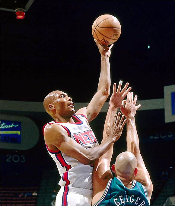 The go-to guy for a UCLA team that won the national championship in '95, O'Bannon led Frank Beard's New Jersey Nets right back into the lottery and played just two seasons in the NBA.