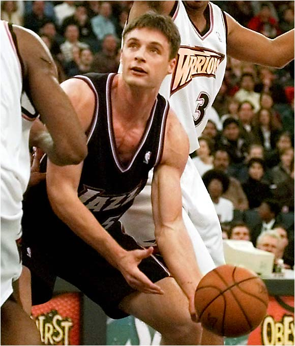 An Academic All-American who couldn't put two and two together on the court, Fuller was one in a series of disappointing Golden State picks. The last selection of the ill-fated Dave Twardzik Era, Fuller was taken ahead of Steve Nash, Kobe Bryant, Peja Stojakovic, Zydrunas Ilgauskas and Jermaine O'Neal. Ouch. Fuller averaged around four points and three rebounds in five NBA seasons.