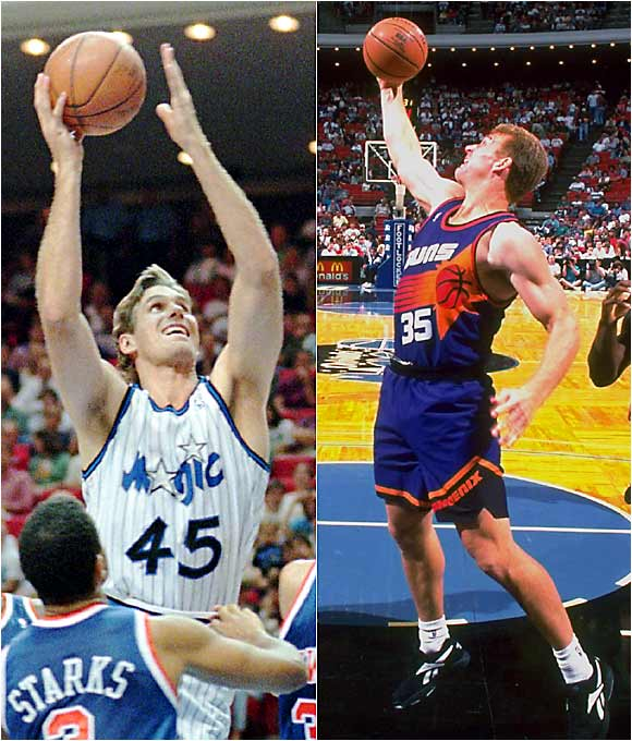 You'd figure with two centers expected to be drafted among the top six -- both sharing the same frame, complexion and southern drawl -- that at least one of them would cash in on his lottery potential. Alas, both Koncak and Kleine spent the bulk of their time in the NBA cashing in on their right to commit six fouls per game.