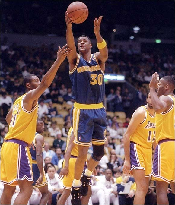 The Next Larry Bird? He was barely the Next Ken Norman. Owens was a jack of all trades, master of none, unless you count floating through practices and tipping the scales to be admirable qualities worth mastering. Drafted by the Kings, Owens became part of a Danny Ferry-esque deal between Sacramento and Golden State that saw the Warriors give up future Hall of Famer Mitch Richmond for Owens' rights.