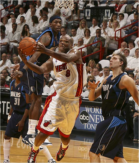 Antoine Walker may have missed all five of his three-point attempts, but he did add a key 12 points and seven rebounds.