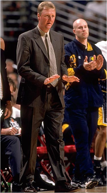 Before Larry Legend graced the Pacers' sidelines, only three men in NBA history had been named Coach of the Year in their rookie season (Harry Gallatin in 1963, Johnny Kerr in 1957 and Mike Shuler in 1986). Bird's Pacers won a then-franchise-high 58 games in his first season.