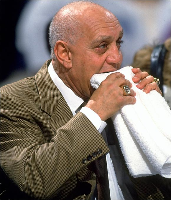Tark the Shark chewed on his towel for 20 games in San Antonio but was harpooned after getting off to a 9-11 start. The team won 16 of its first 18 games under Shark's successor, John Lucas, who made a key move by inserting none other than Avery Johnson into the lineup.