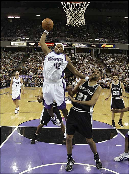No free-agent-to-be did more to boost his stock than Wells, who averaged 23 points and 12 rebounds in a first-round series against San Antonio. His Game 4 masterpiece, in which he poured in 25 points and hauled in 17 rebounds in a 102-84 win, helped the Kings tie the series against the defending champions.