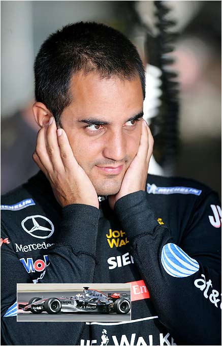 Dropped a spot to sixth in the standings after failing to finish at Montreal following an accident on lap 13, but has shown ability to bounce back. Montoya rebounded from poor performance at Spanish Grand Prix, where he retired after spinning out in lap 18, to finish second at Monoco. Last year, he got off to a rough start before finishing strong in 2005, winning three races from July 10-Sept. 25 and finished fourth overall. Sat out last year's USGP.