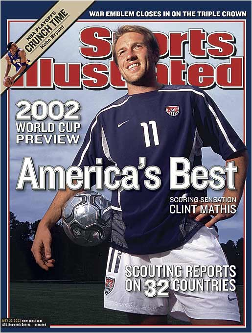 He was touted as the U.S.' next big star, but Clint Mathis never became the brand name soccer pundits hoped he would. Even so, Team USA performed better than anyone expected at Japan/Korea '02...