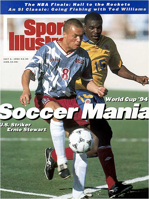 The U.S. hosted the World Cup for the first time, drawing Stateside attention to the sport unseen since the days of the NASL. The success of the tournament would give rise to Major League Soccer two years later.
