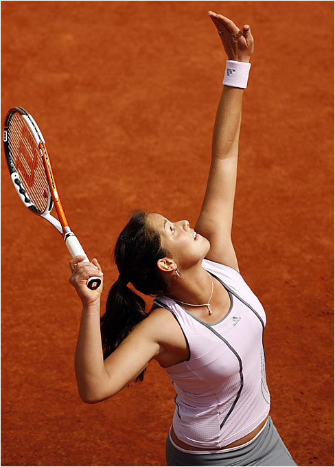 "Ana Ivanovic is hoping to improve on last year's surprise showing, when she reached the quarterfinals at Roland Garros. ""I feel no pressure,"" Ivanovic said. ""I'm so young and have so many years in front of me. Each match I just take as a new experience."""