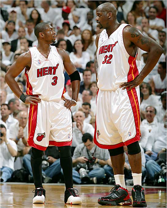 Though Miami is a Finals neophyte, the Heat feature three members with extensive Finals experience. Coach Pat Riley has presided over 46 Finals games (not including 16 as a player), Shaquille O'Neal has played in 24 (winning three Finals MVP awards) and Gary Payton is playing in his third Finals with as many teams.