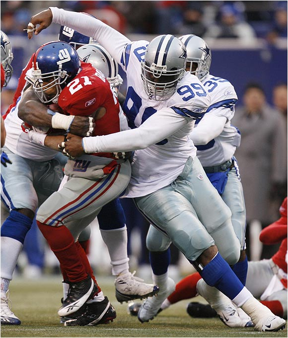 The Cowboys' defense is loaded with young talent, and Canty has a chance to emerge as a force on the line. He fell to the fourth round of the 2005 draft because of health questions, but he displayed first-round talent last year and should be much better this season.