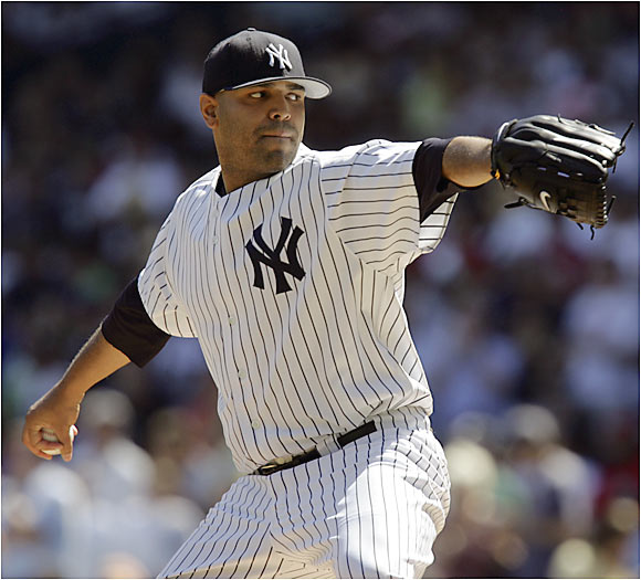For a change, the Yankees didn't pay top dollar for a pitcher. They went bargain-hunting and rescued Chacon from Coors Field, and he helped them win their eighth consecutive AL East title by going 7-3 with a 2.85 ERA.