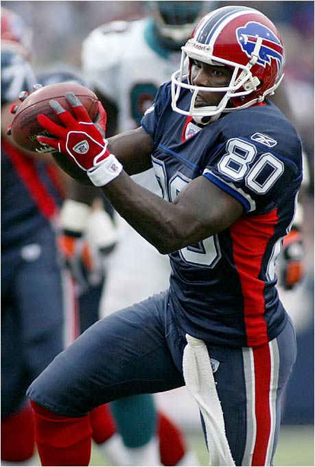 They need a legitimate threat to line up opposite Andre Johnson, and they believe the 33-year-old Moulds will keep defenses honest. He caught 81 passes for 816 yards last season -- well off his career best of 100 receptions in 2002 and 1,368 receiving yards in 1998. But part of Moulds' problem last year was the unstable quarterback situation in Buffalo.