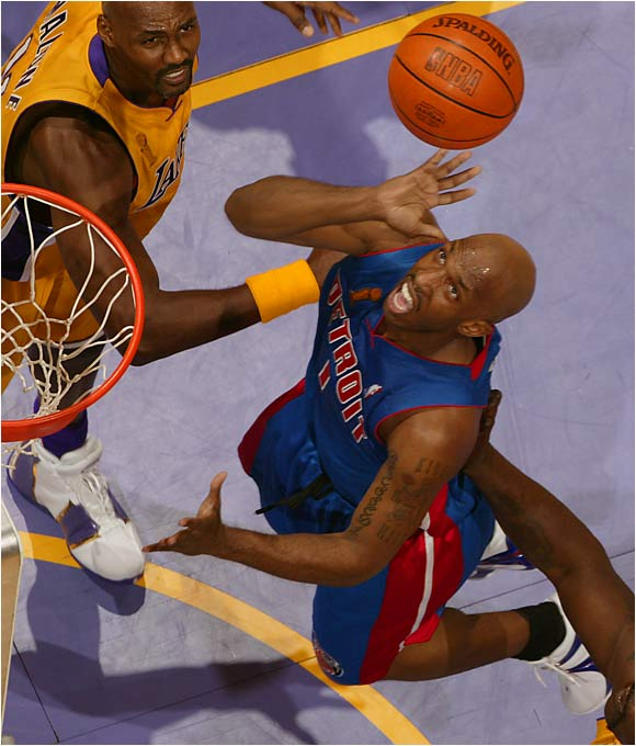 Some questioned at the time whether Detroit should have committed to a six-year deal for a guy who had been living off a series of one-year contracts. But Billups has superseded Jason Kidd as the best point guard in the East and has developed into an All-Star while guiding the Pistons to two Finals appearances and winning the '04 Finals MVP award.