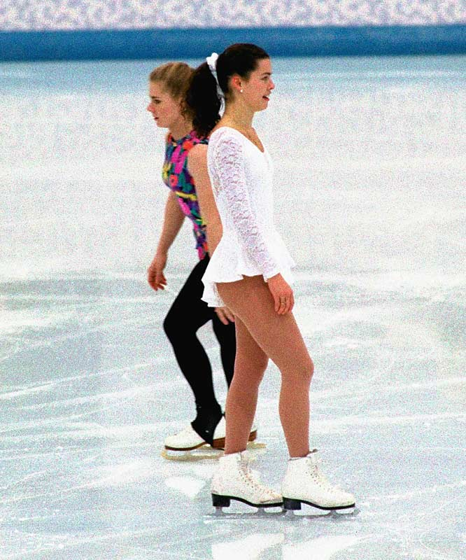 On Jan. 6, 1994, Tonya Harding, one of America's top figure skaters, helped cover up an attack on fellow American starlet, Nancy Kerrigan, during a practice session at the U.S. Figure Skating Championships. While Harding initially claimed innocence, it was later found that she helped plan the attack with her ex-husband, Jeff Gillooly, and his hired henchman, Shane Stant, who clubbed Kerrigan on the knee.