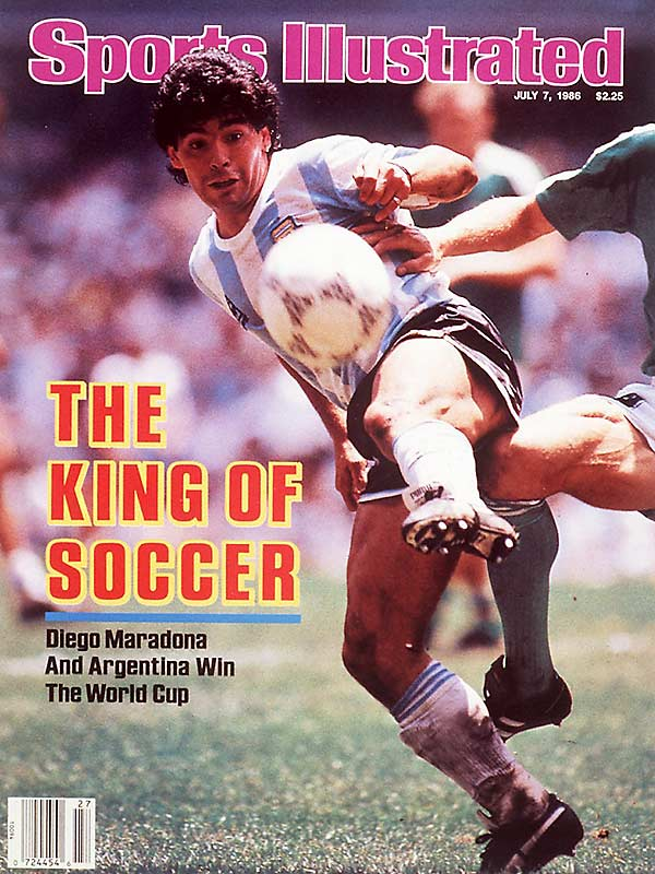 "It's perhaps the most notorious cheating episode in the history of sports. In the quarterfinals of the 1986 World Cup, Argentine legend Diego Maradona scored a goal with his hand. The referees didn't see it, despite the English team's protests, and the goal stood. Argentina went on to win the game 2-1 on its way to claiming the World Cup. It would be 14 years until Maradona admitted he was the one who punched the ball, and not, as he called it, ""the Hand of God."""