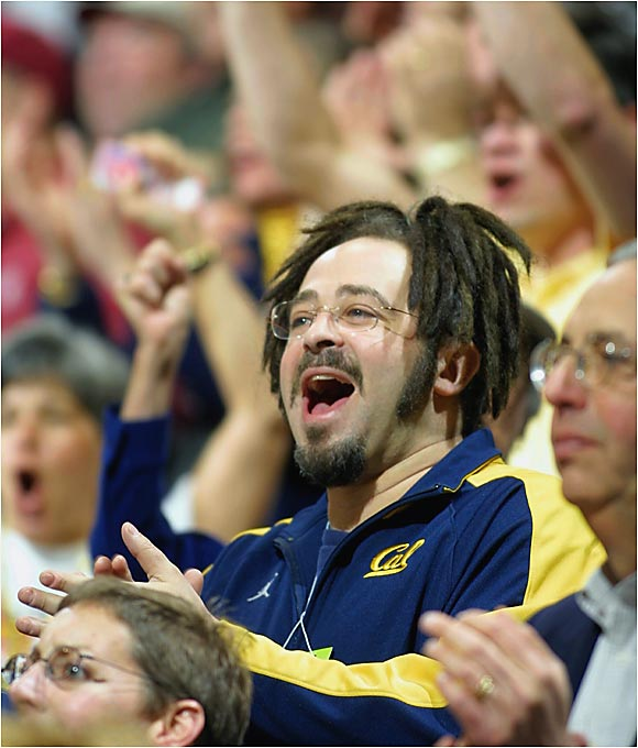 """All my songs are Cal-inspired,"" said the Counting Crows frontman, who asks for Saturdays off in the fall so he can follow Bears football. Duritz, who attended Cal but never graduated, often flies with the football team and gave the Bears a motivational speech before their triple-overtime victory over USC in 2003."