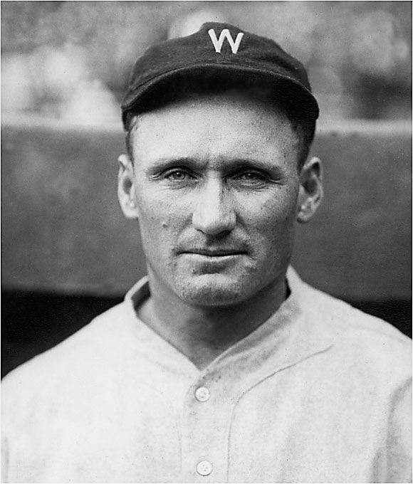 """Johnson's heater earned him the nickname """"the Big Train."""" He delivered it sidearm and, like Sutter with his splitter, rarely bothered to mix in any other pitches. He won 417 games and led the league in strikeouts 12 times."""