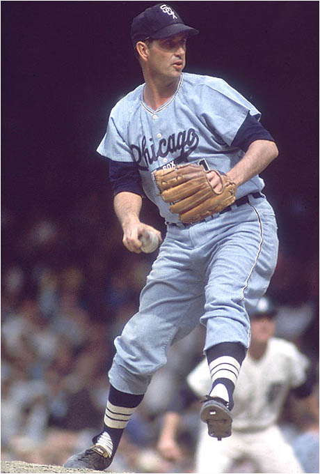 You don't see many knuckleball-throwing closers, but Wilhelm had such fine control -- only 778 walks in more than 2,000 innings -- that he crafted a Hall of Fame career around his dancing knuckler.