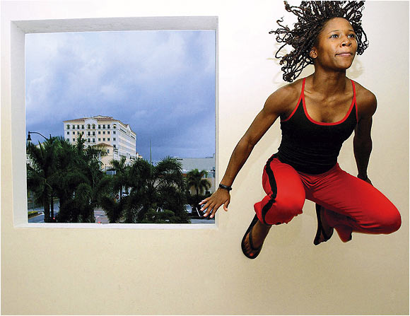 Lauren Williams, photographed in Miami on Sept. 25, 2003.