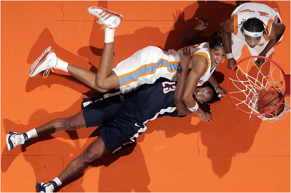 Tennessee against UConn in Knoxville on Jan. 7, 2006.