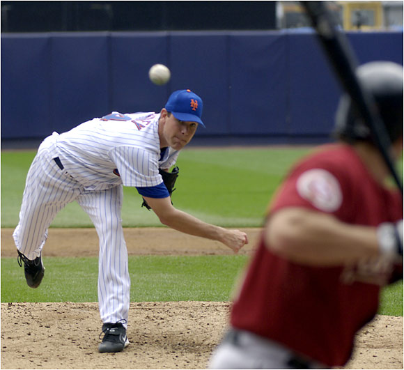 Mets starter Mike Pelfrey surrendered five runs in four innings Sunday against the Astros, and Houston managed to salvage the finale of a three-game series at Shea Stadium.