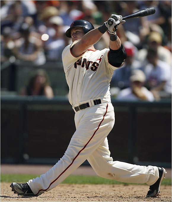 Three days after being jettisoned from the Toronto Blue Jays for clashing with his manager, Shea Hillenbrand landed in San Francisco, where he will be the Giants' every-day first baseman. While in Toronto, Hillenbrand hit .301 with 12 homers, 15 doubles and 39 RBIs.