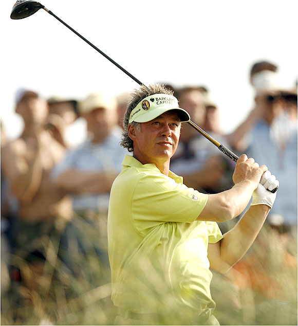 As did Darren Clarke, who shot an 82 Friday, the day's second worst round behind Ben Bunny's 83.