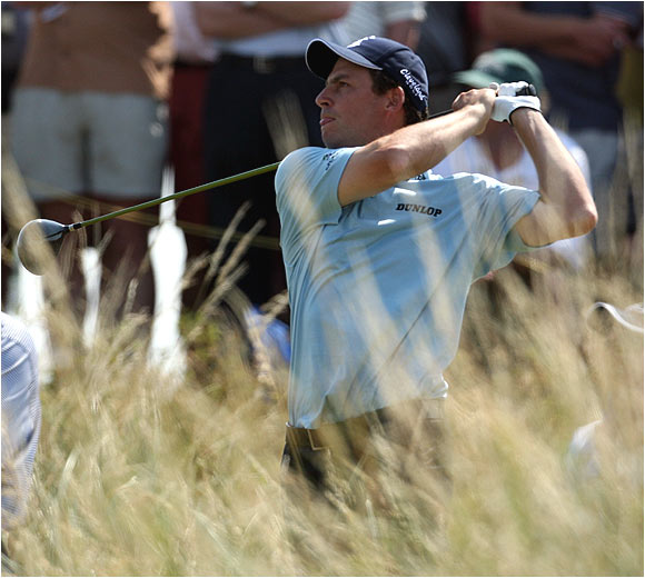 A popular pick to win the 135th British Open, David Howell stumbled out of the gate with a 2-over 74.