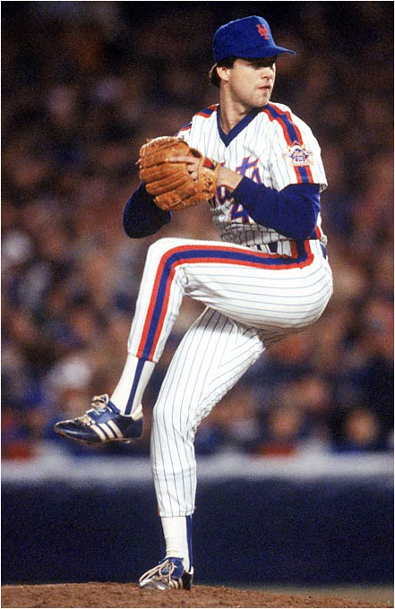 One of the true rubber-armed closers in history, McDowell gave the Mets 127 1/3 innings and tied for the team lead with 17 saves as a rookie. He would use his nasty sinker to contribute another 128 innings, 14 wins and 22 saves for the World Series-champion 1986 Mets.